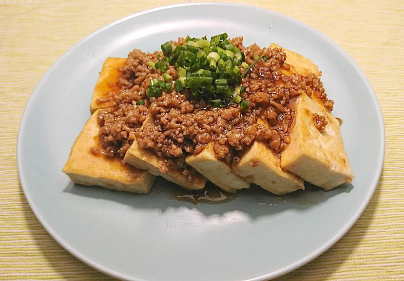 そぼろステーキ豆腐